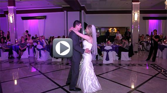 The Crystal Room in Butler PA - Wedding for Jessica and Randy