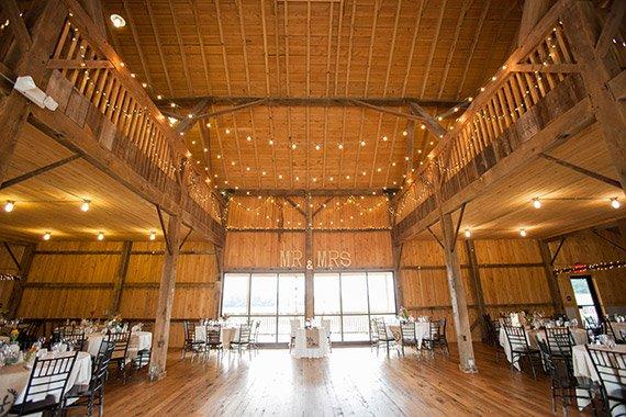Inside The White Barn