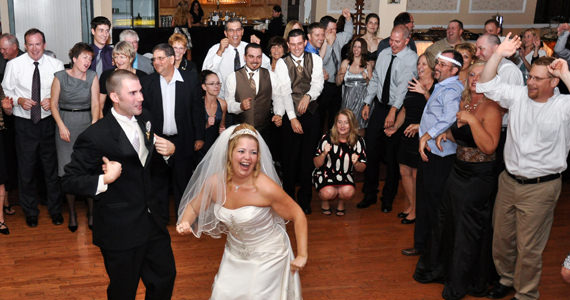 Travis and Lisa McDougal Wedding Reception at the Butler Days Inn