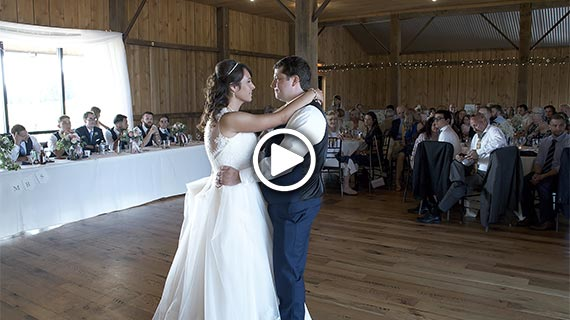 White Barn in Prospect - Melissa and Connor's Wedding