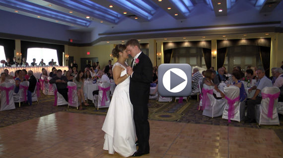 William and Genevieve Burgess Wedding Reception at Holiday Inn Pittsburgh Airport